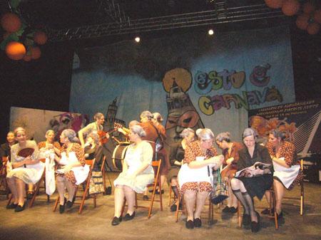 La agrupación femenina 'Al Fresquito' fue la vencedora en 2009 en comparsas