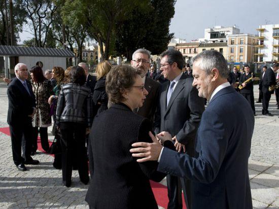 Para Griñán ha sido su primer Día de Andalucía como presidente de la Junta