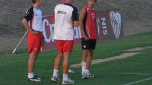 La resonancia magnética confirmó que el jugador tiene un esguince de grado 2 en su tobillo derecho/Sevilla FC