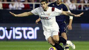 El jugador serbio se pierde así el trascendental final de temporada/SevillaFC
