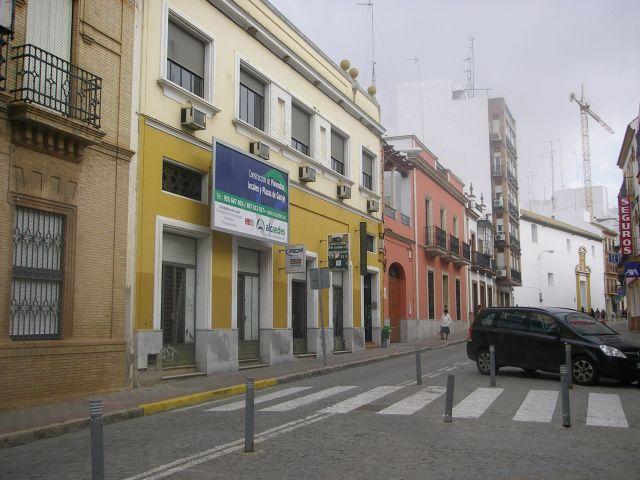 Imagen de una promoción que podría verse afectada en la calle La Mina, en el Centro de Alcalá
