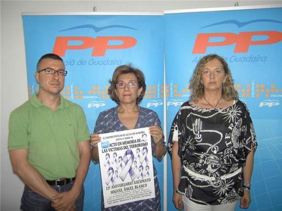 El acto se conmemora en el año en el que se cumplen trece años después del fallecimiento del concejal vasco/PPAlcala.
