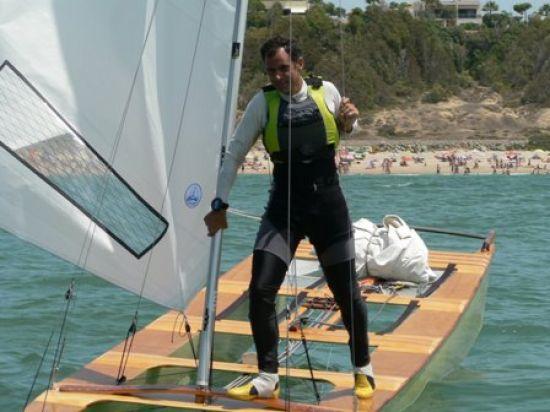Juan Luis Páez logró el Campeonato de Europa hace unas semanas en Badalona/CNSevilla