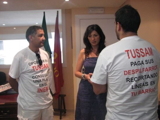 González ha pedido al Ayuntamiento que aplique el principio de igualdad en la contratación de trabajadores