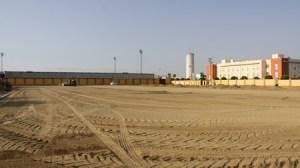 El campo de fútbol San Sebastián contará con césped artificial./SA