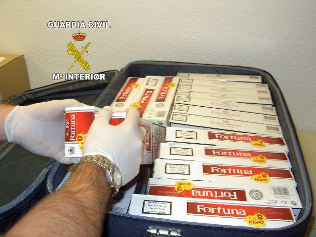 Hasta 20.000 cajetillas de tabaco de contrabando se han aprehendido en el Aeropuerto de Sevilla