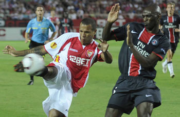 El Sevilla no pudo ofrecerle a su afición una victoria en el debut europeo/SevillaFC