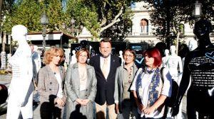 La exposición ha sido inagurada esta tarde por el alcalde de Sevilla Alfredo Sánches Monteseirrín. /sa