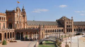 La Plaza de España recobra así su imagen original, tras años de trabajos de restauración/Bitxi/Flickr