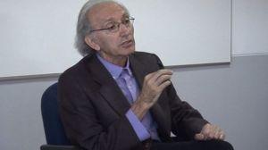 Alonso de Santos visitó la Facultad de Comunicación/Paula Romero