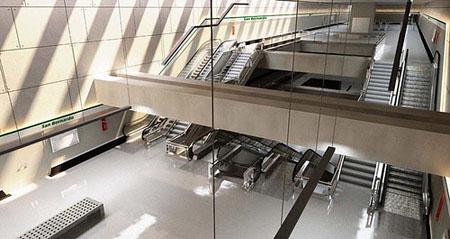 Los usuarios valoran con un notable alto el servicio del metro