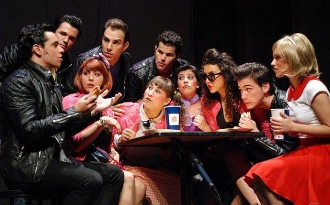 Los protagonistas durante una escena del Musical/Ana Pedraza