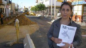 Los andalucistas se entrevistaron con los responsables de las obras en la calle Silos