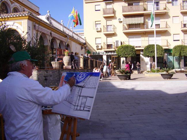 El certamen de pintura al aire libre alcanza su tercera edición