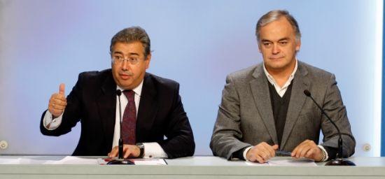 Zoido y González Pons han denunciado las presuntas irregularidades sobre el ERE en Mercasevilla