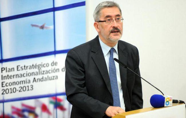 El consejero de Economía, Innovación y Ciencia en una imagen tomada esta semana