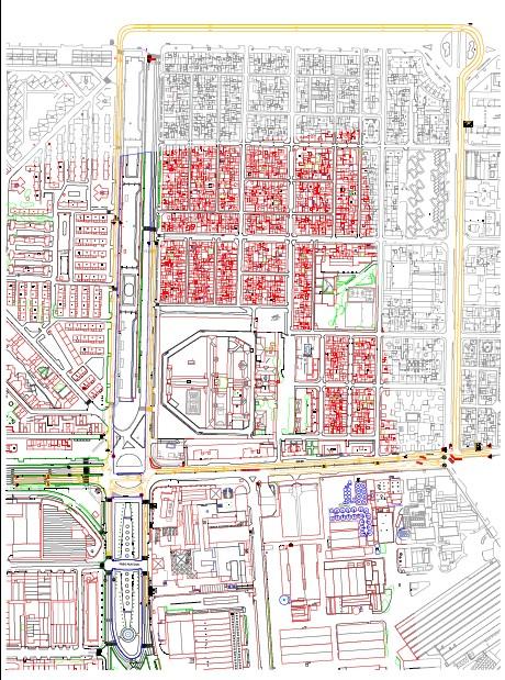 Los vehículos deberán desviarse por la Avenida Cruz del Campo hacia la Gran Plaza y la calle Marques de Pickman, con salida a la Ronda de Tamarguillo./SA