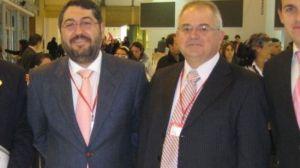 El alcalde, Segundo Benítez (PSOE), junto al ex concejal del PP y ex tercer teniente de alcalde, Antonio Vela / Ayuntamiento de Castilblanco