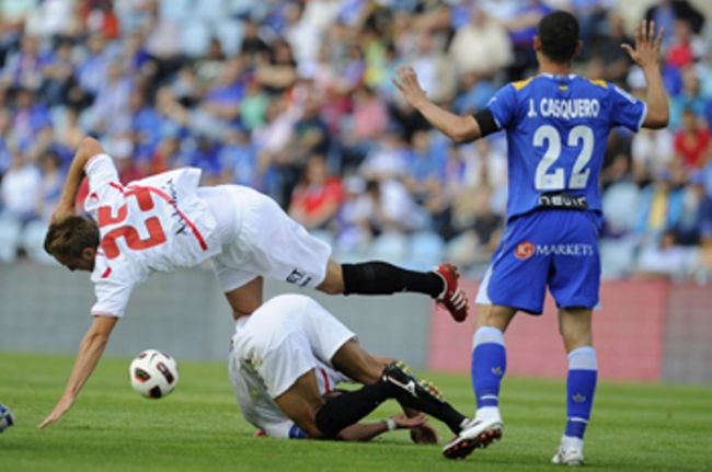 El objetivo de entrar Champions queda un poco más lejos/SevillaFC