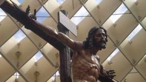 El Cristo de La Sed, a su paso por las 'setas'/angelespinola