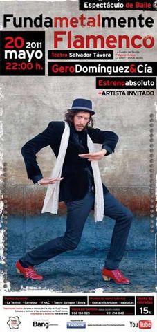 Flamenco, rock y baile se fusionan con Gero Domínguez