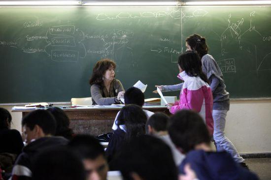 clase-profesora-alumnos-sinc