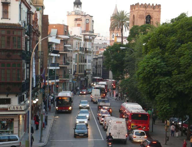 Uno de los accesos al centro, colapsado/Calafellvalo/Flickr.com