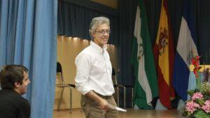 Juan Peláez en la conferencia cambia para cambiar/Paula Romero
