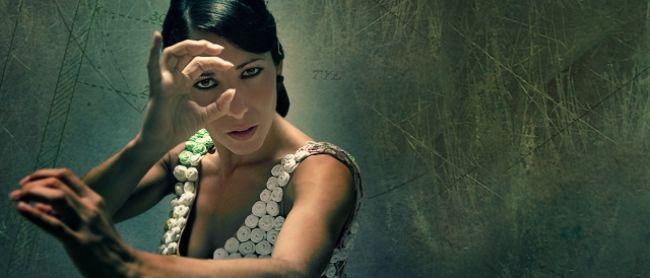 La bailaora Ana Morales promociona su espectáculo ReciclARTE / LaBienal