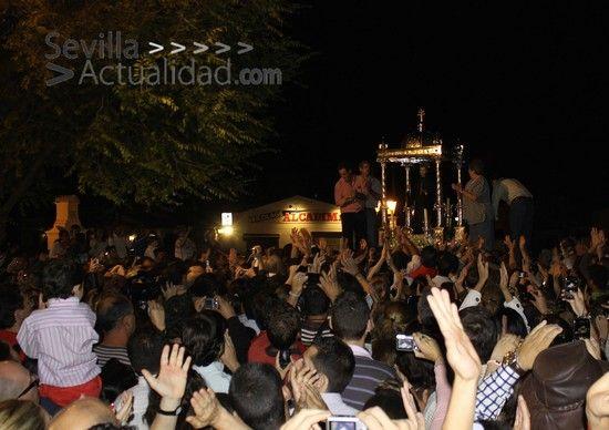 La imagen de San Benito fue trasladada por última vez a la Parroquia de Castilblanco en julio de 2010 / Juan Carlos Romero