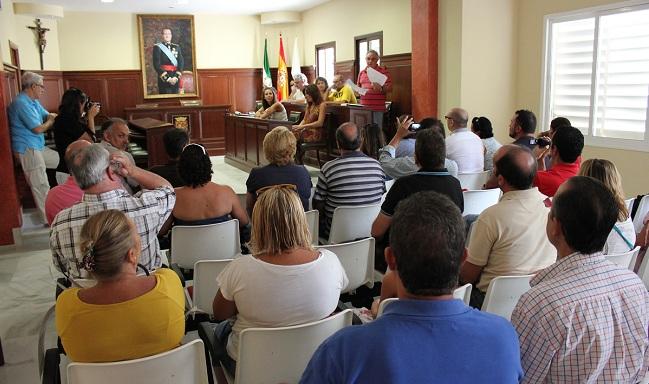 El Pleno del Ayuntamiento de Espartinas sacó adelante la normativa que regula la grabación de imágenes de estas sesiones públicas / Archivo SA
