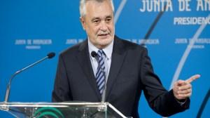 El presidente de la Junta de Andalucía, José Antonio Griñán.