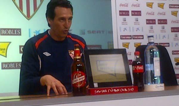 Unai Emery es consciente de la importancia de sumar en cada partido / SEVILLA F.C.