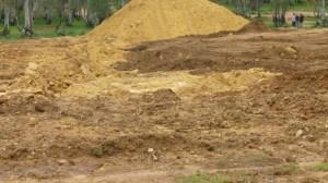 Según los ecologistas, se están realizando excavaciones sin saber los motivos o si tienen permisos para realizarlos./ Prensa 'Alwadi-ira - Ecologistas en Acción'