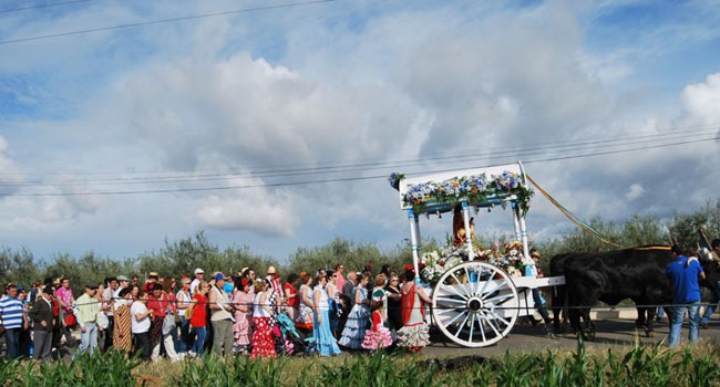 La romería de la Divina Pastora de Villanueva se celebra cada tercer fin de semana del mes de mayo / Sevilla Actualidad
