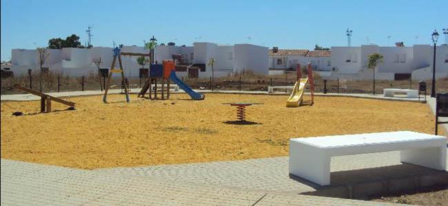 El nuevo espacio público creado en la zona de El Cabecillo en Castilblanco de los Arroyos / Sevilla Actualidad