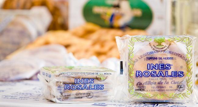 Las tortas de Inés Rosales, de Castilleja de la Cuesta, obtienen la protección de la Comunidad Europea / Sevilla Actualidad