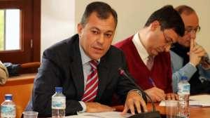 Alcalde de Tomares en Pleno