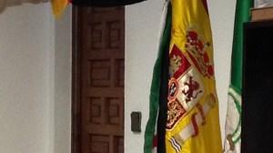 la foto bandera comunista Palomares