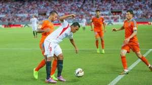 El Sevilla mantuvo todo el partido la delantera en el marcador hasta los últimos minutos/ Sevilla FC