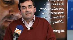 Imagen de archivo de Antonio Romero en rueda de prensa