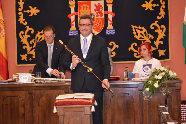 Antonio Gutiérrez Limones en la última toma de posesión como alcalde de Alcalá/ A. Balbuena