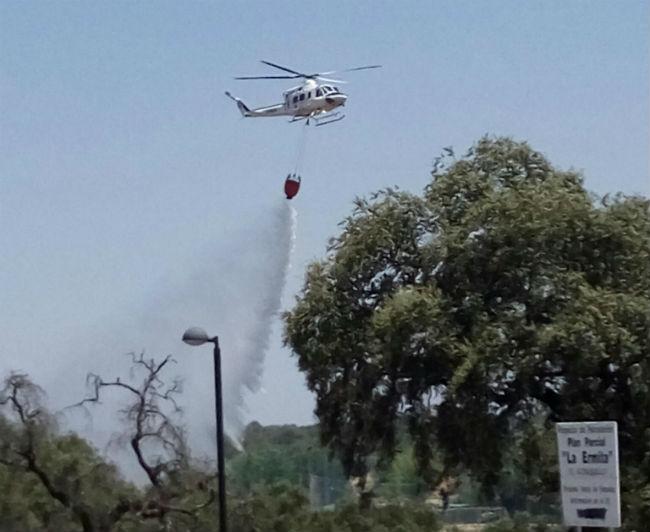 infoca-extincion-incendio-ronquillo-julio-16-eruizvel-twitter