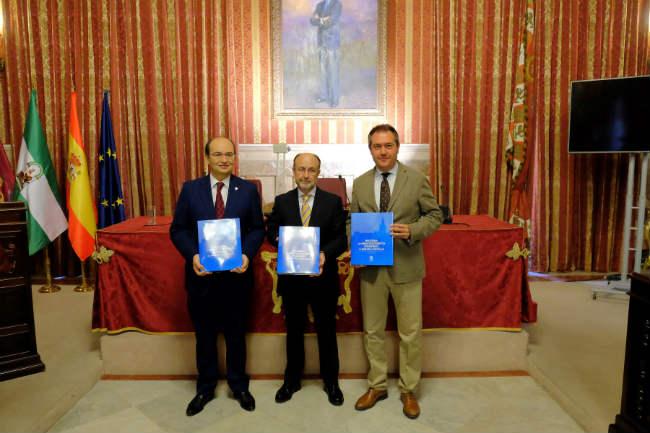 Foto alcalde libro Emasesa
