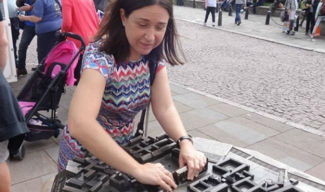Rocio Sanchez - Braille