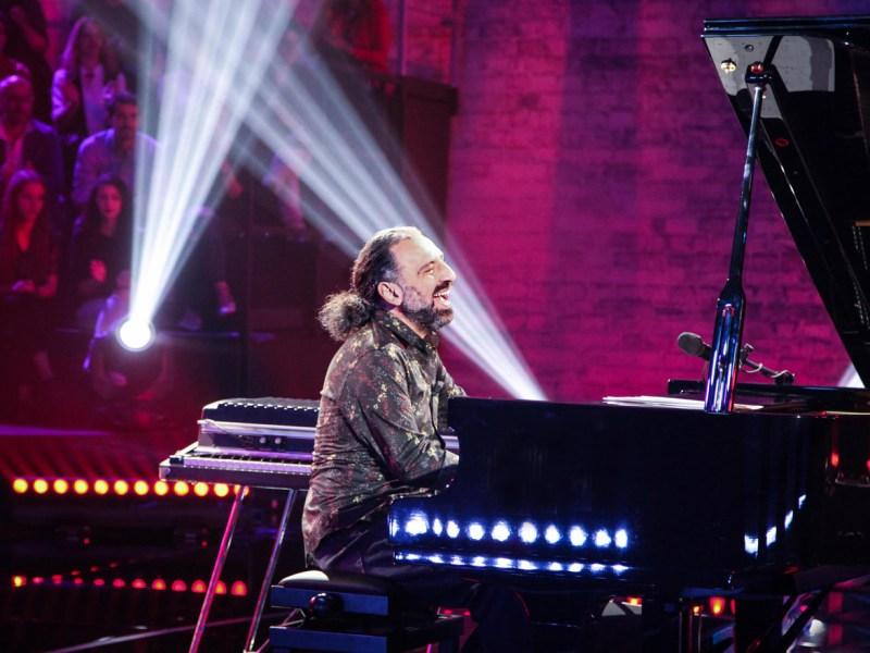 Cantante y pianista italiano Stefano Bollani