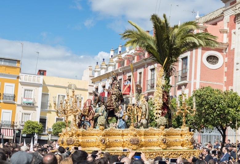 La Borriquita, Domingo de Ramos