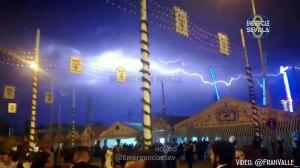 Viernes de Feria con rayos /@FranValle
