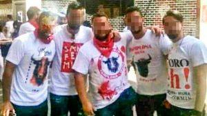 Los cinco miembros de La Manada /SA