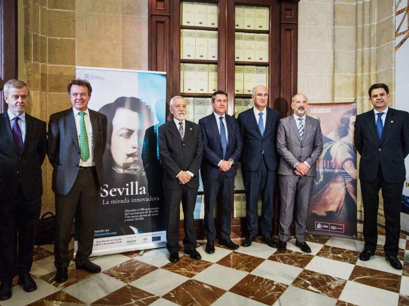 Presentación de la muestra de Murillo en el Archivo de Indias /Óscar Romero